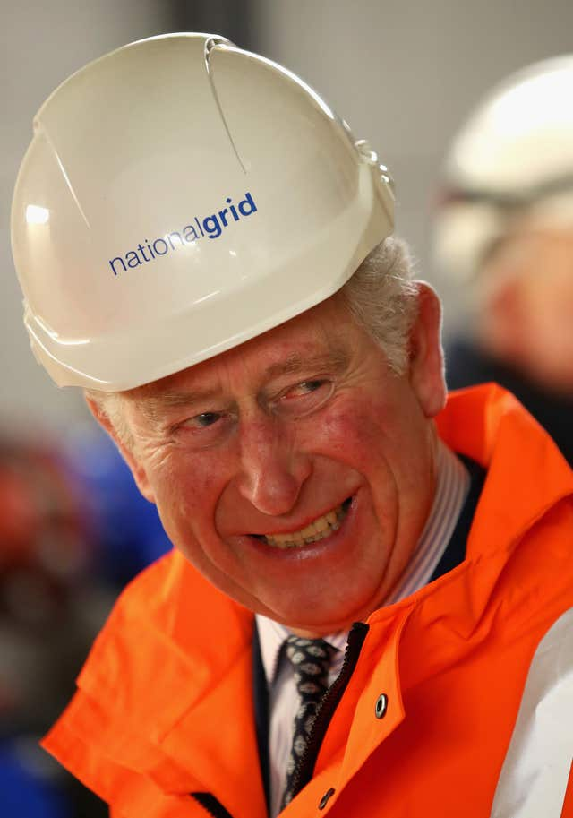 The Prince of Wales during the official opening of The National Grid's London Power Tunnels project. (Chris Jackson/PA Wire)