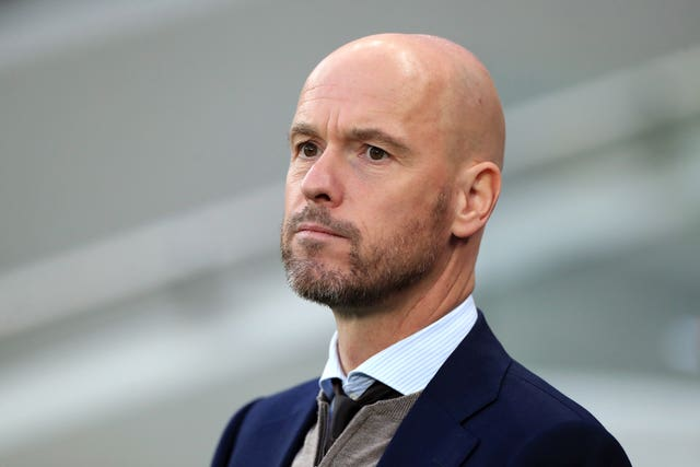 Erik ten Hag saw his Ajax team beaten by Spurs in the Champions League semi-final last season.