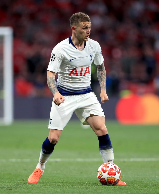 Trippier has swapped London for Madrid