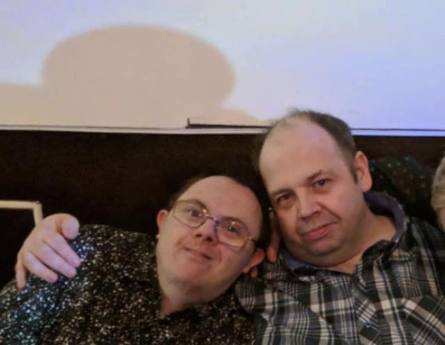 Brothers Darren, 42, (left) and Dean Lewis, 44