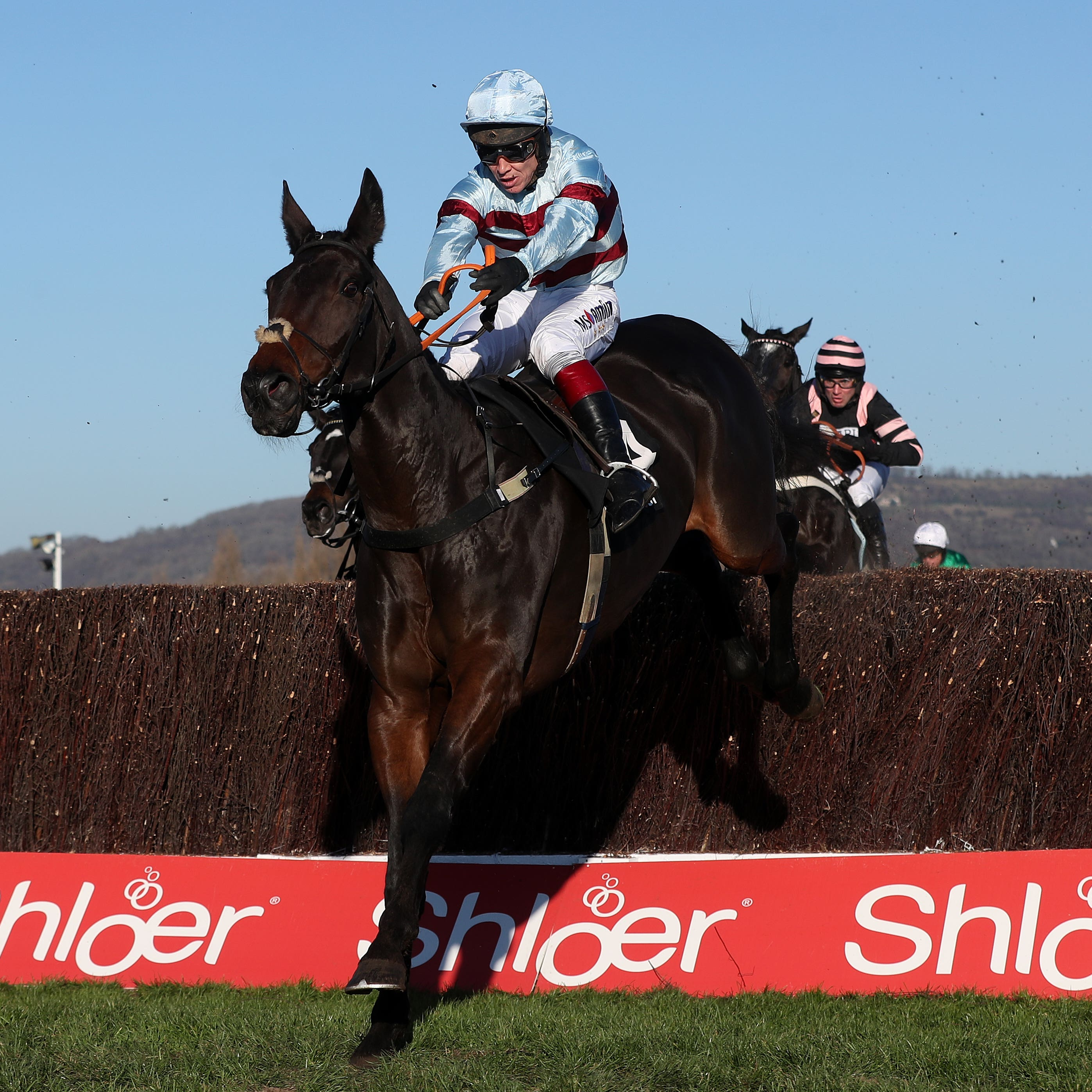 Lalor on his way to winning at Cheltenham in November