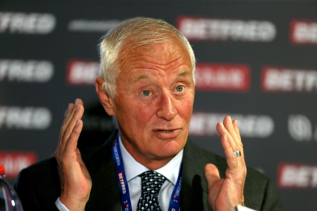 Barry Hearn file photo