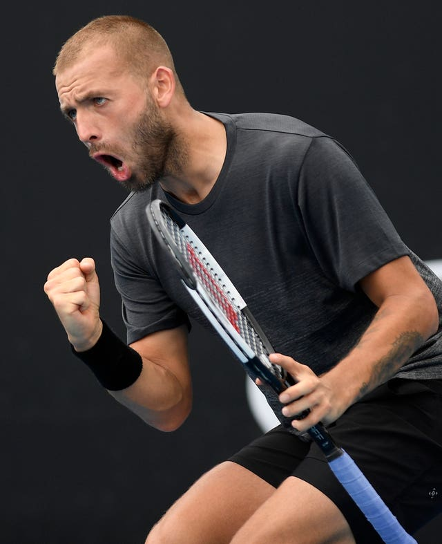 Dan Evans takes on Yoshihito Nishioka in round two