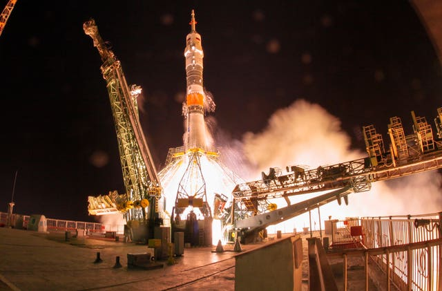 Kazakhstan Russia Space Station