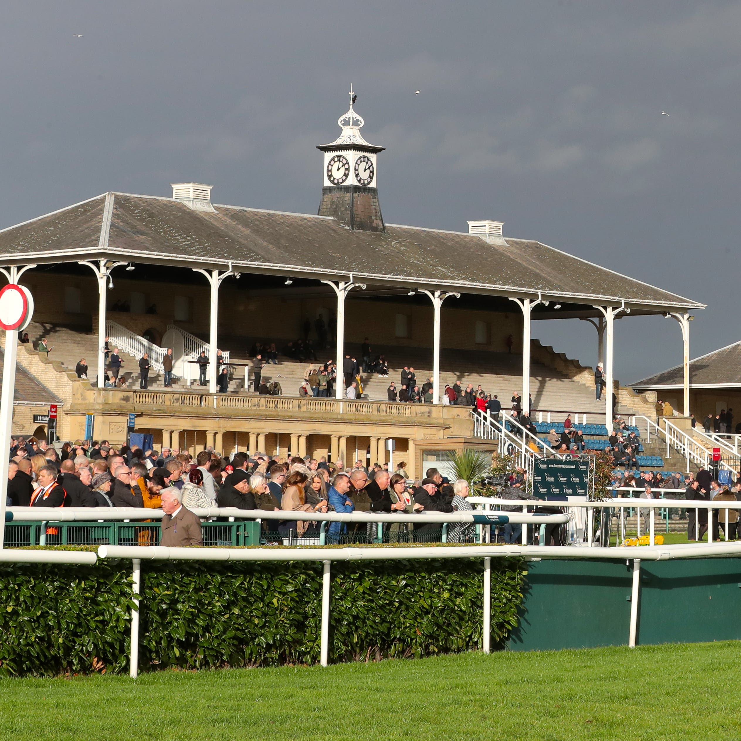 Racing at Doncaster was abandoned midway through Friday's meeting