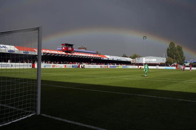 Dagenham and Redbridge sit 18th in the National League table