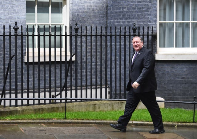 Mike Pompeo visits the UK