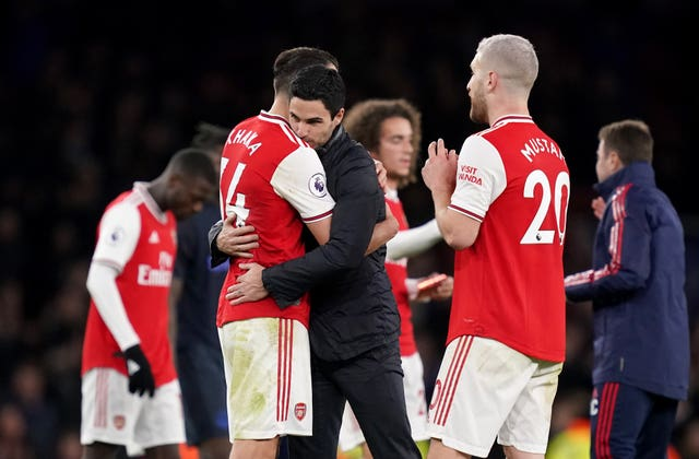 Arsenal manager Mikel Arteta and Xhaka have formed a good relationship.