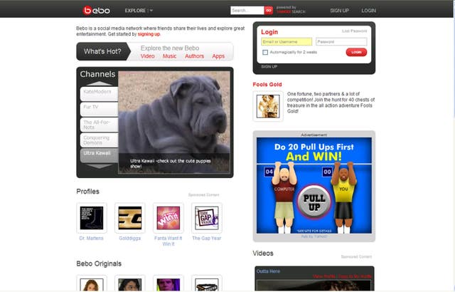 Bebo and the end of google+