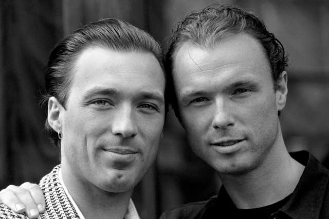 'The Krays' Premiere – Gary and Martin Kemp – London
