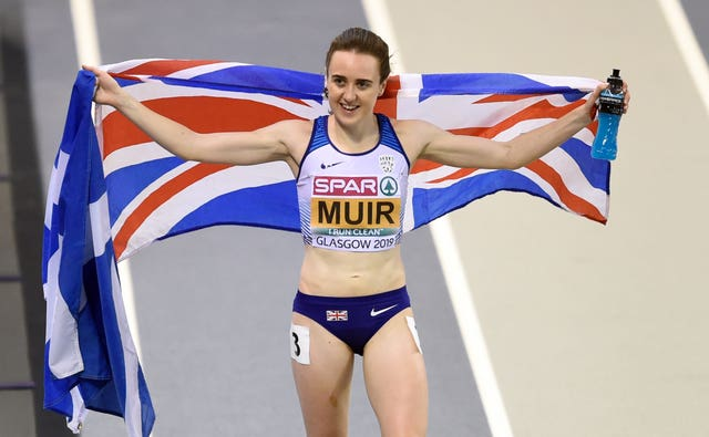 Laura Muir has been struggling with injury