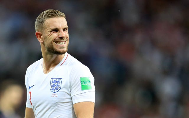 England's Jordan Henderson enjoyed an impressive tournament