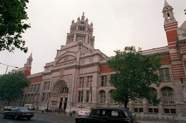The Victoria and Albert Museum in Kensington, London
