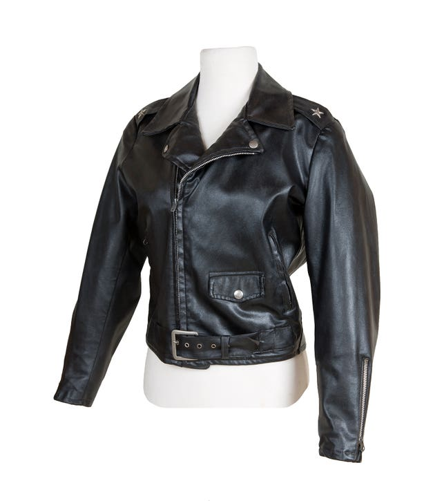 The jacket worn by Olivia Newton-John in the film Grease