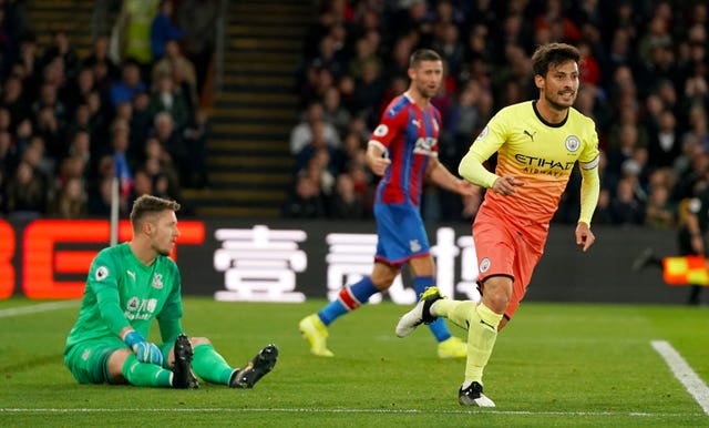 David Silva scored City's second goal