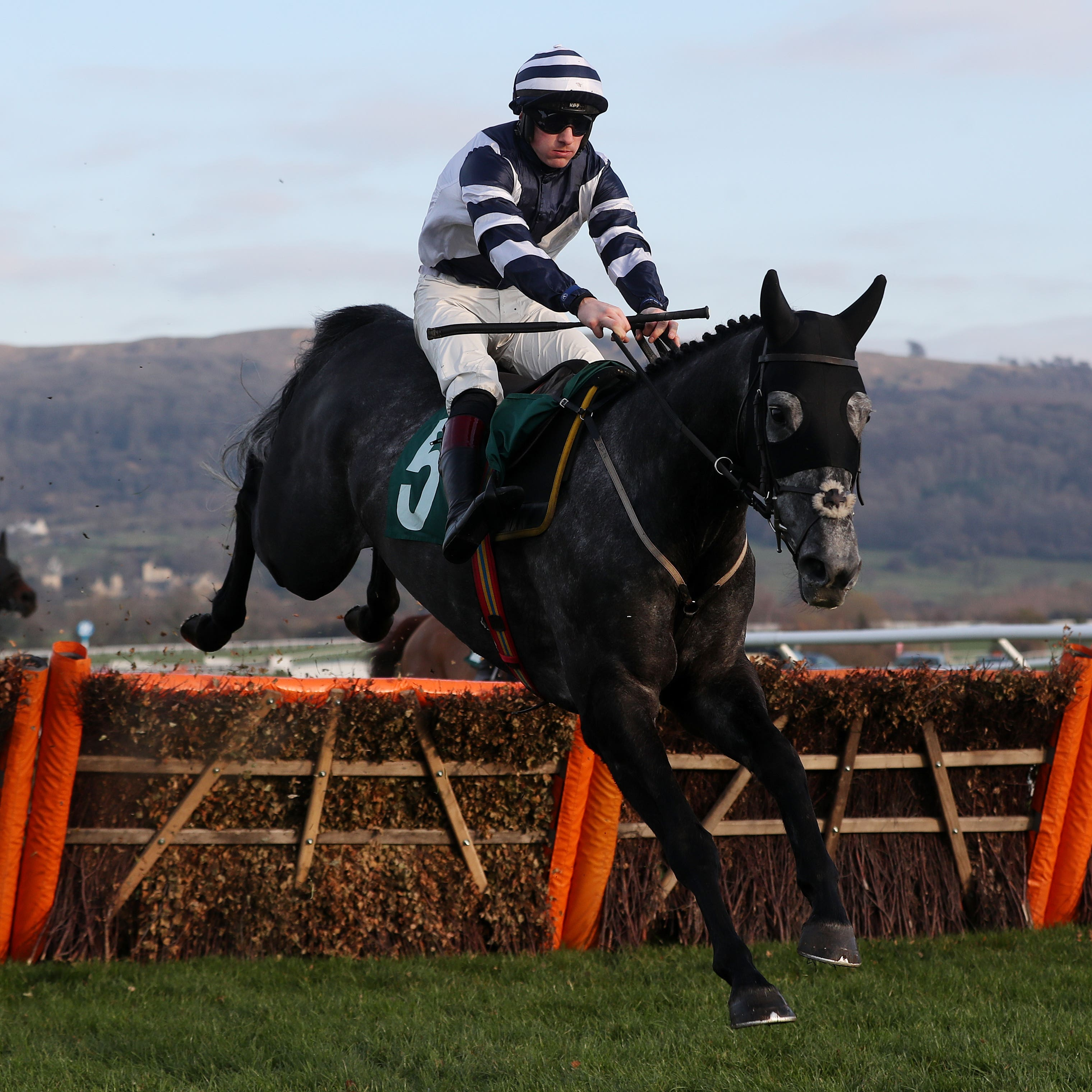 Al Dancer on his way to an impressive victory at Cheltenham