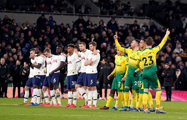 Tottenham have not played in front of a home crowd since the FA Cup match with Norwich in March