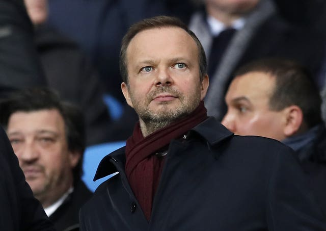 Aleksander Ceferin was critical of Manchester United's Ed Woodward