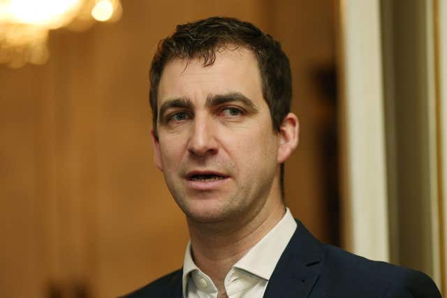 Brendan Cox stepped down from the roles in February (Jonathan Brady/PA)