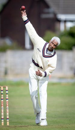 Cecil Wright admits his pace bowling is now not what it once was.