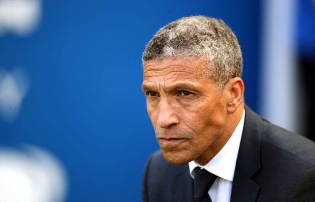 Chris Hughton was sacked by Brighton in May 2019