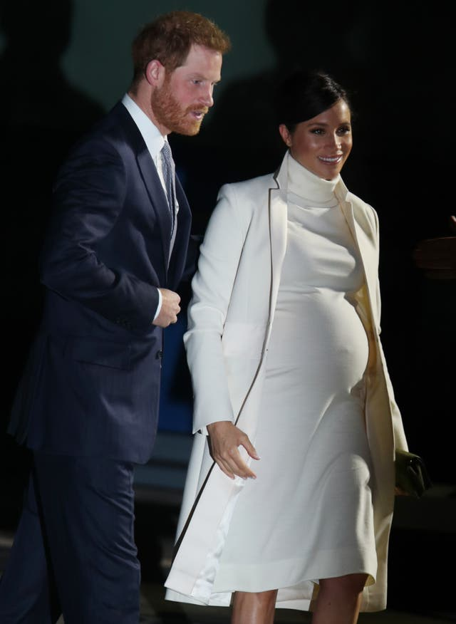 Harry and Meghan at the Natural History Museum
