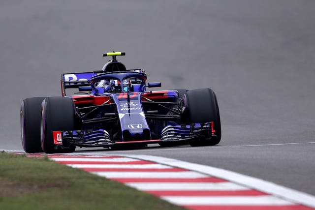 Pierre Gasly during qualifying for the Chinese Grand Prix
