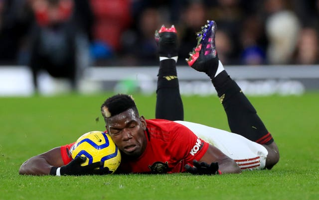 Pogba has not played for Manchester United since December due to a foot injury