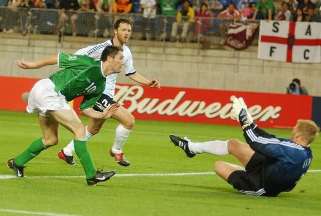 Robbie Keane scored a record 68 goals for Ireland