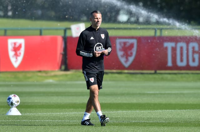Wales cancelled Tuesday's scheduled press conference with Ryan Giggs