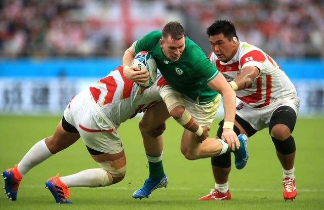 Ireland centre Chris Farrell is poised for a first start since last year's surprise World Cup loss to Japan