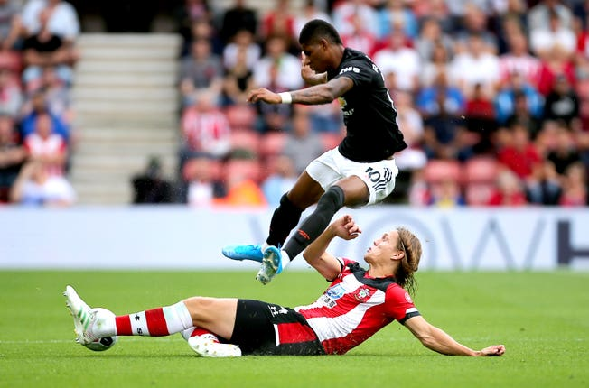 Southampton's Jannik Vestergaard brought United down to earth