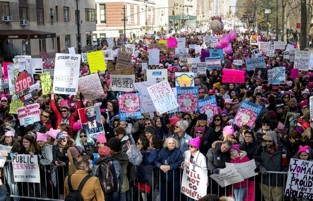 Protesters take to the streets of New York