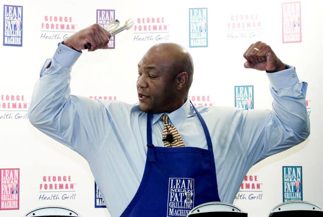 George Foreman launches grill