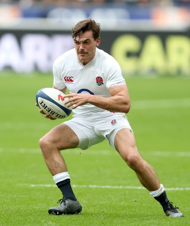 George Furbank took Anthony Watson's place against France