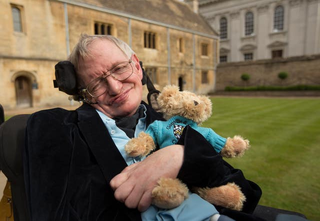 Stephen Hawking celebrates 50th year as Cambridge fellow