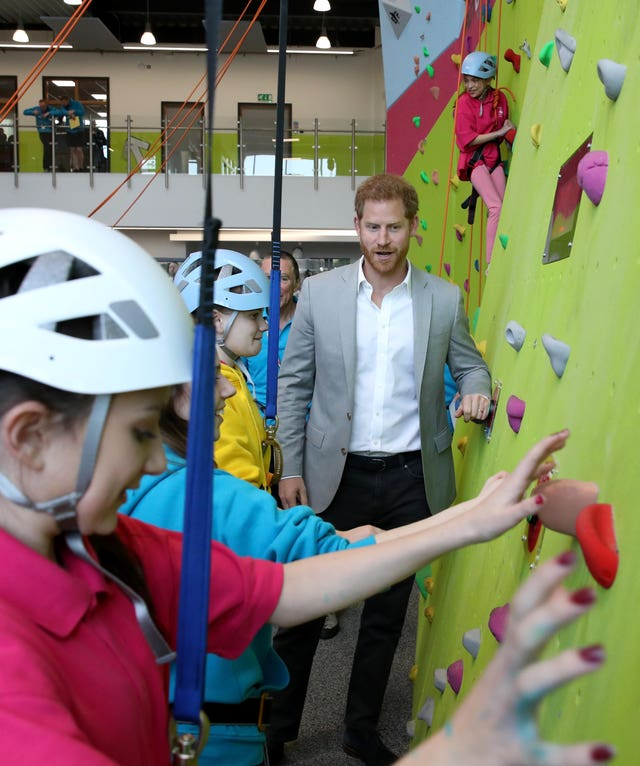 The Duke of Sussex opens Future