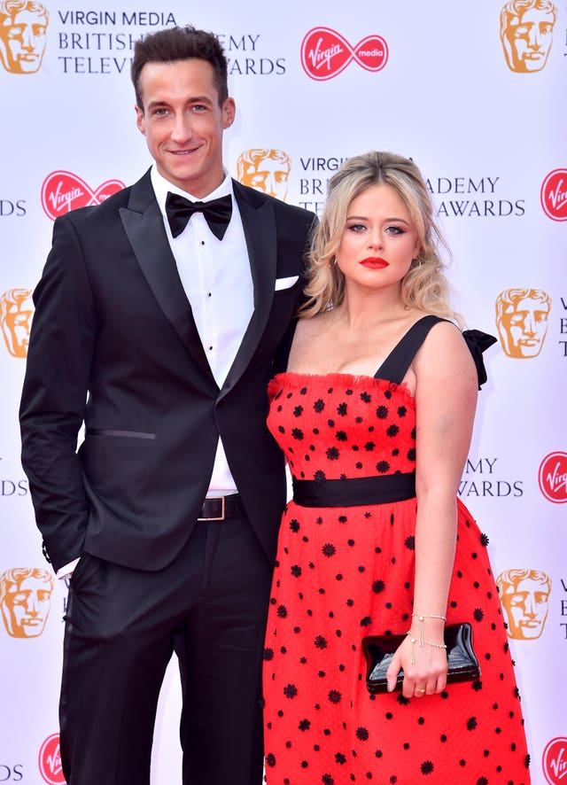 Rob Jowers and Emily Atack