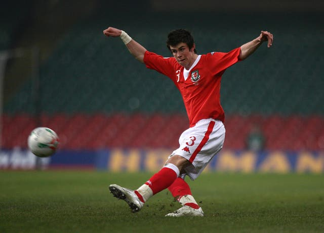 Gareth Bale made his Wales debut at the age of just 16 days and 315 days