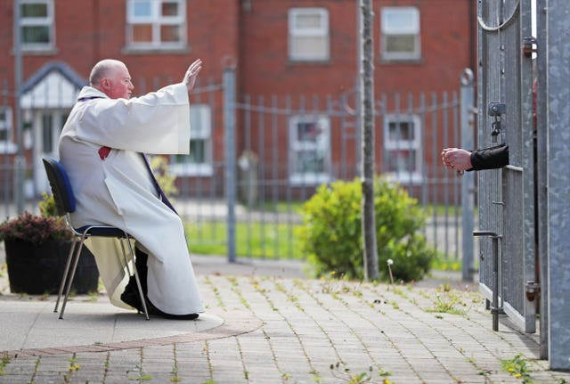 Fr Paddy McCafferty resuming hearing confessions in May