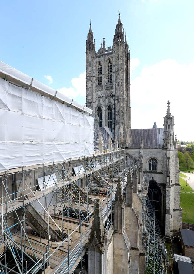 New Gargoyles at Canterbury Cathedral