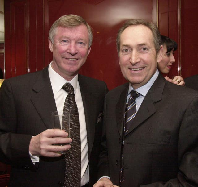 Sir Alex Ferguson paid a heartfelt tribute to Gerard Houllier