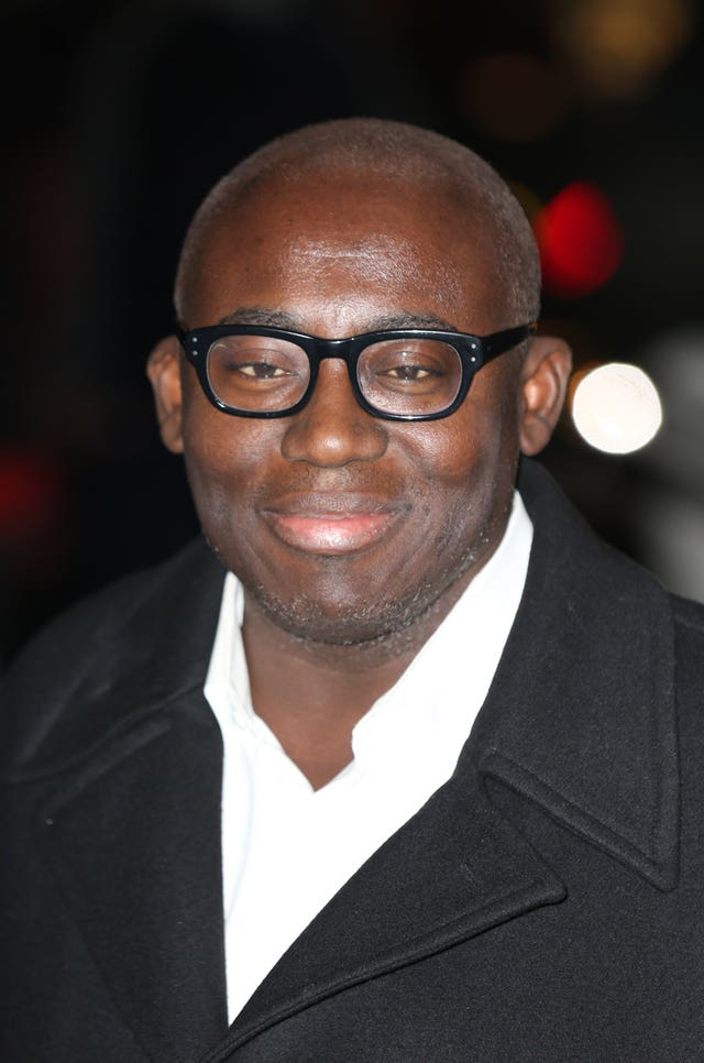 Vogue editor Edward Enninful who allowed the Duchess of Sussex to guest edit the September issue of his magazine. Isabel Infantes/PA Wire