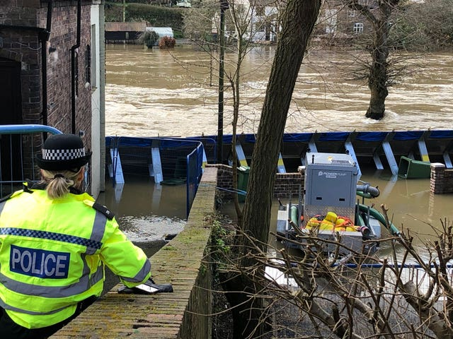 Ironbridge flooding