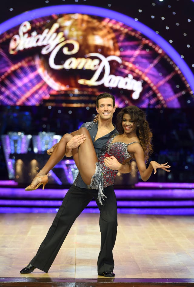 Oti Mabuse and Danny Mac