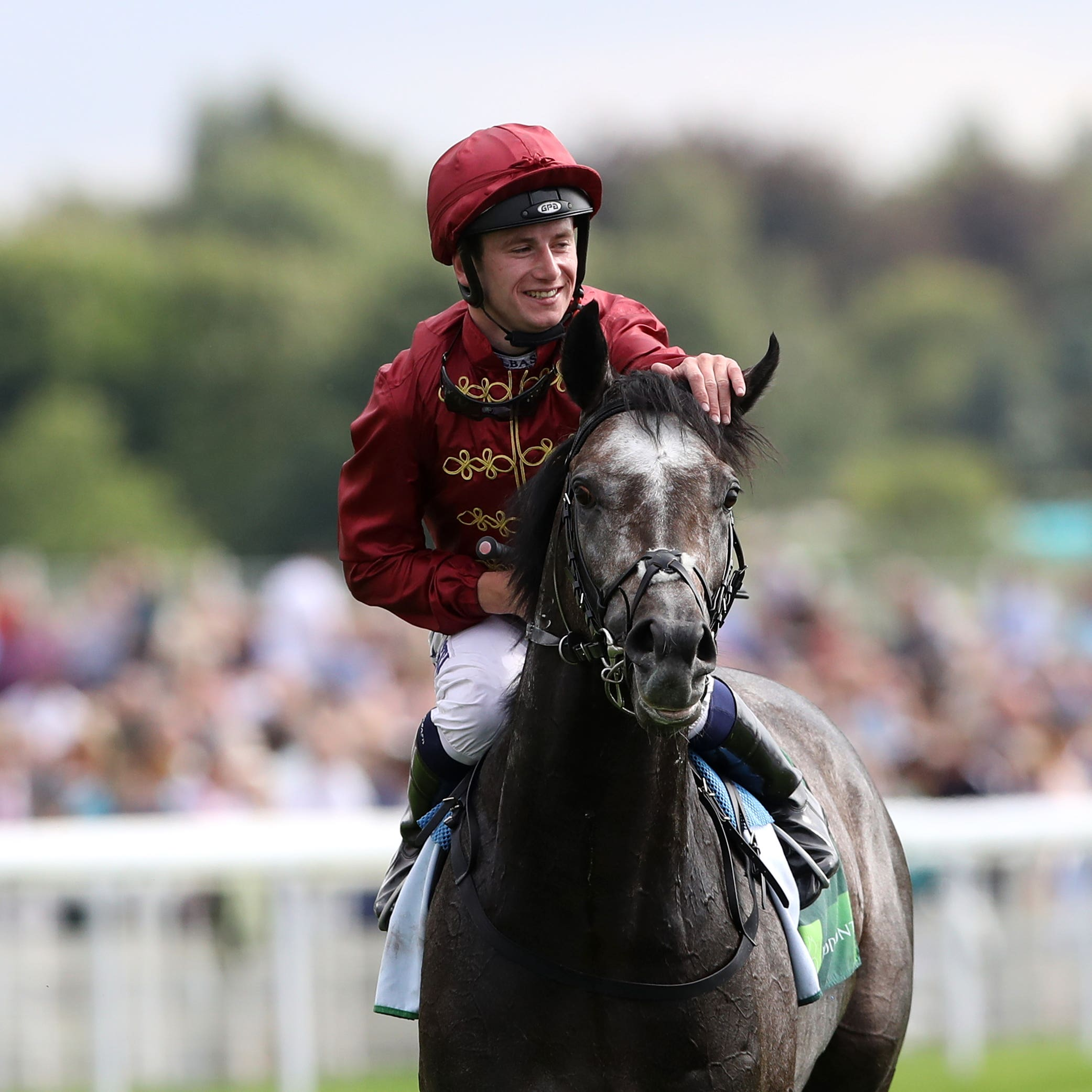 Oisin Murphy is hoping for more big race joy on Roaring Lion