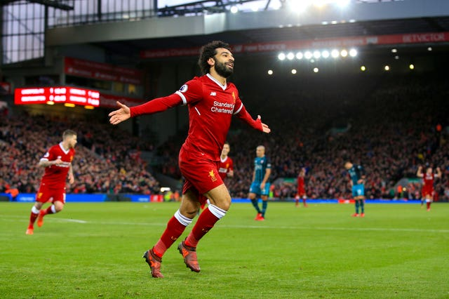 Mohamed Salah scored twice during Liverpool's 3-0 victory over Southampton