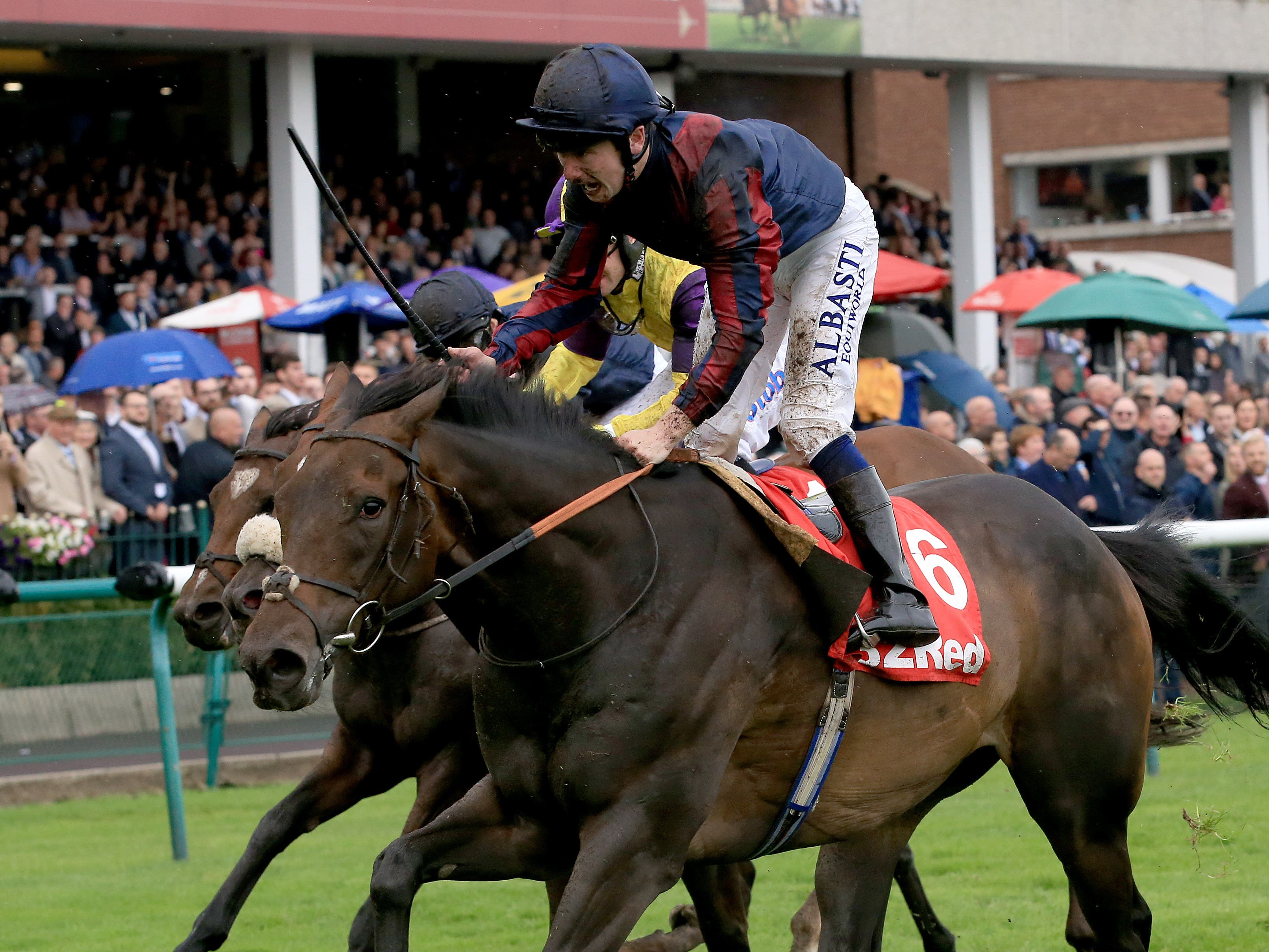 The Tin Man winning at Haydock last time out (Clint Hughes/PA)