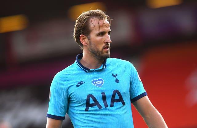Harry Kane was denied a penalty