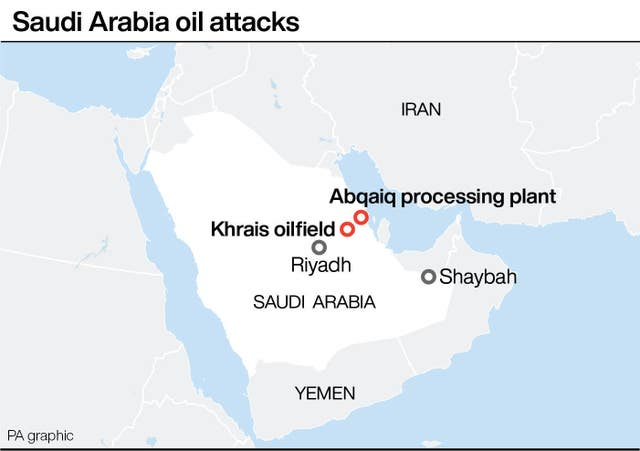 Saudi Arabia oil attacks